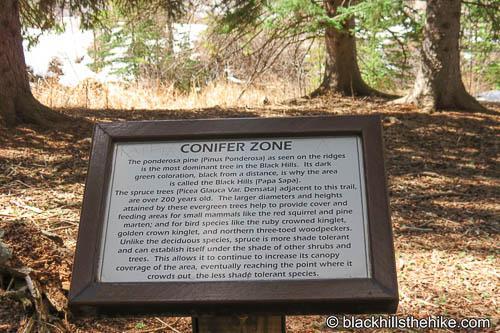 Botanical Gardens Nature Trail Spearfish Canyon
