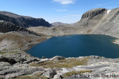 Florence Lake (Backpacking In the Bighorns – Hiking Bomber Mountain)
