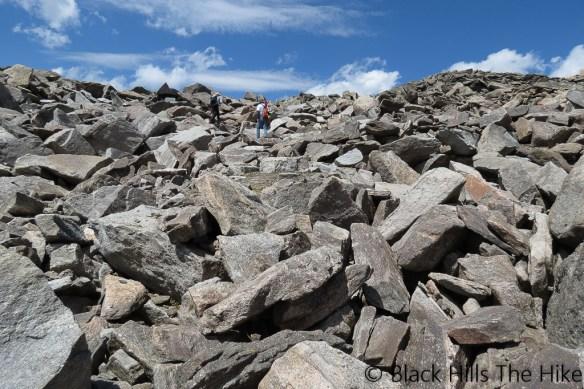Hiking Bomber Mountain