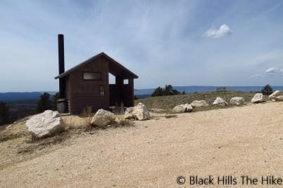 Vault Toilet at Cement Ridge (Cement Ridge Lookout)