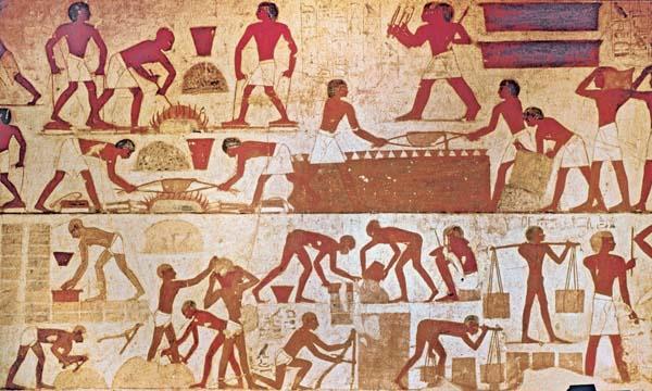 Hebrews Making Bricks In Egypt