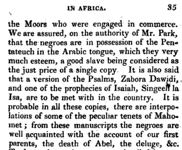 Negroes In Possession of The Torah