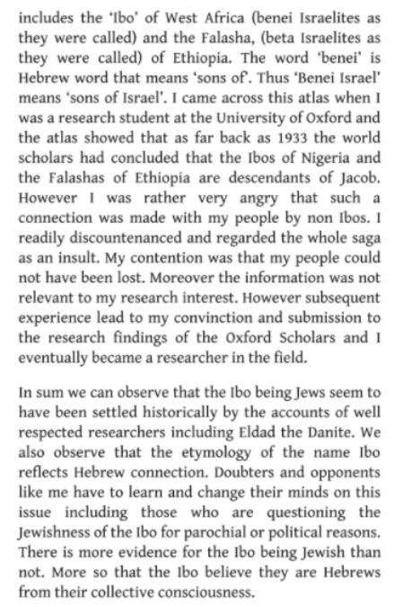 Ibos confirmed as Jews