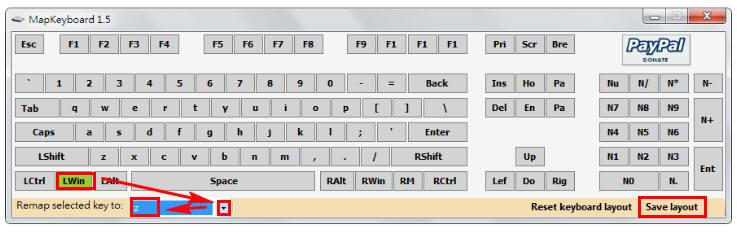 鍵盤按鍵設定變更 ; 電腦鍵盤按鍵修改 - MapKeyboard