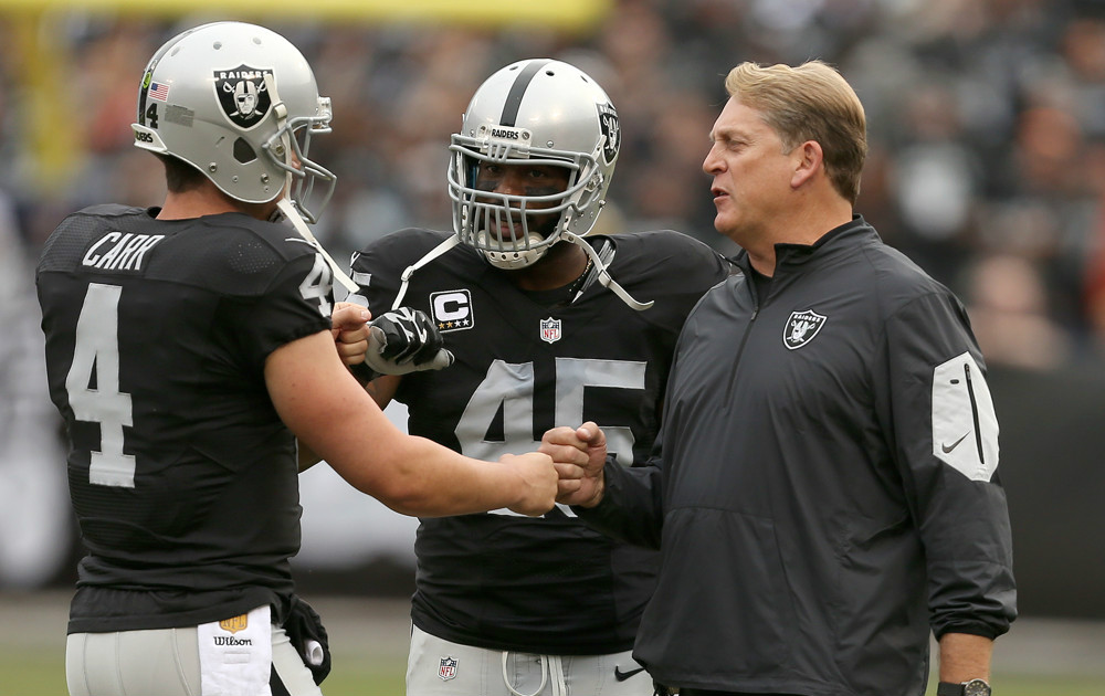 Early 53 man roster prediction for the Oakland Raiders