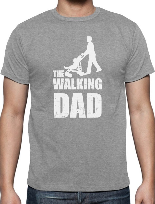 Fathers Day Gift The Walking Dad TShirt Cool And Funny
