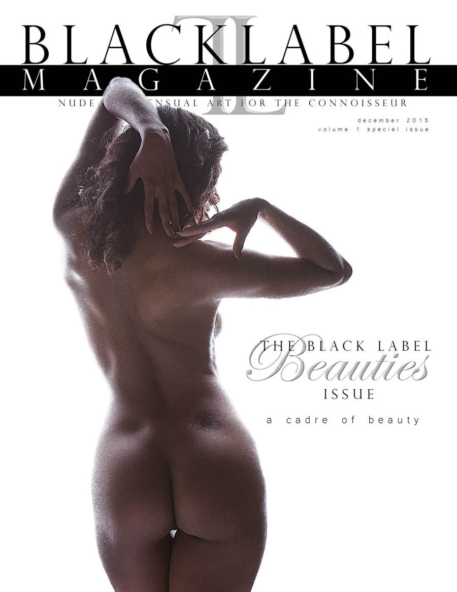 black label magazine, black label beauties, nude models, floofie, kendra james, sandria dore, st. merrique, cat hedlund, keighla night