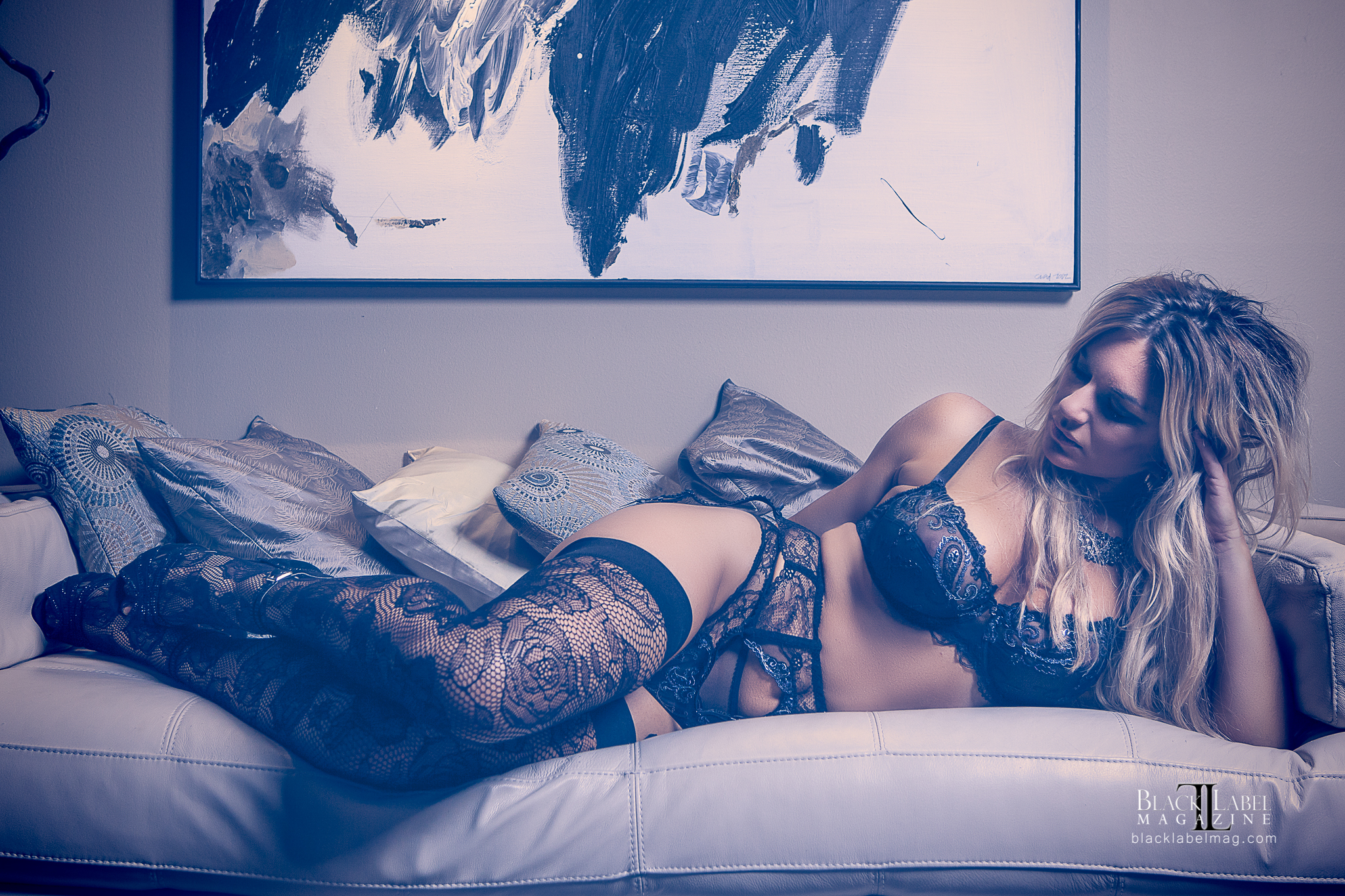 nude art magazine, Black Label Magazine, lingerie, Lise Charmel, sexy, boudoir images