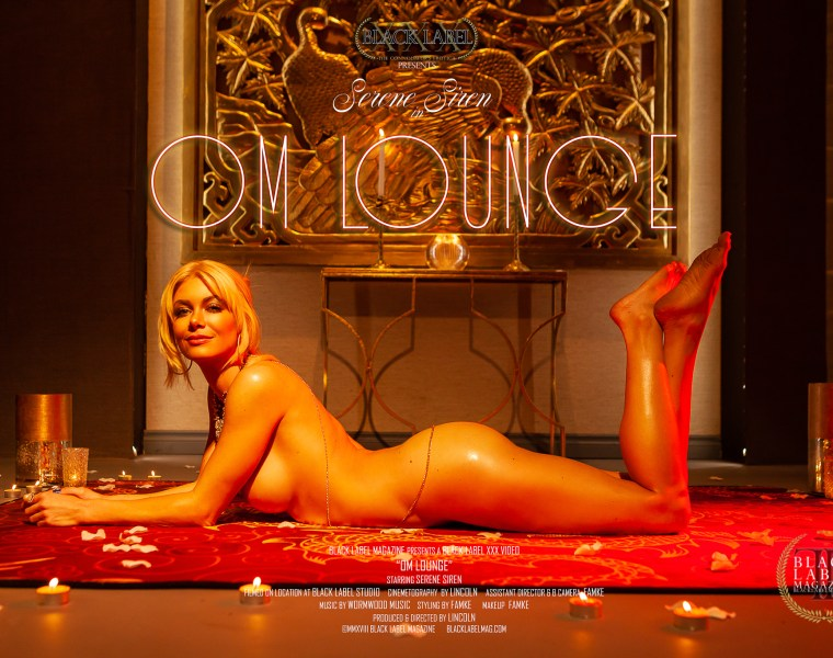 Black Label Magazine, Serene Siren, nude, blondes, big boobs, sexy women, nude art photography, masturbation video