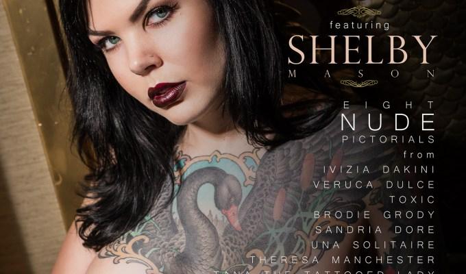 Black Label Magazine, Shelby Mason, nude art, tattoos, nude tattoo models