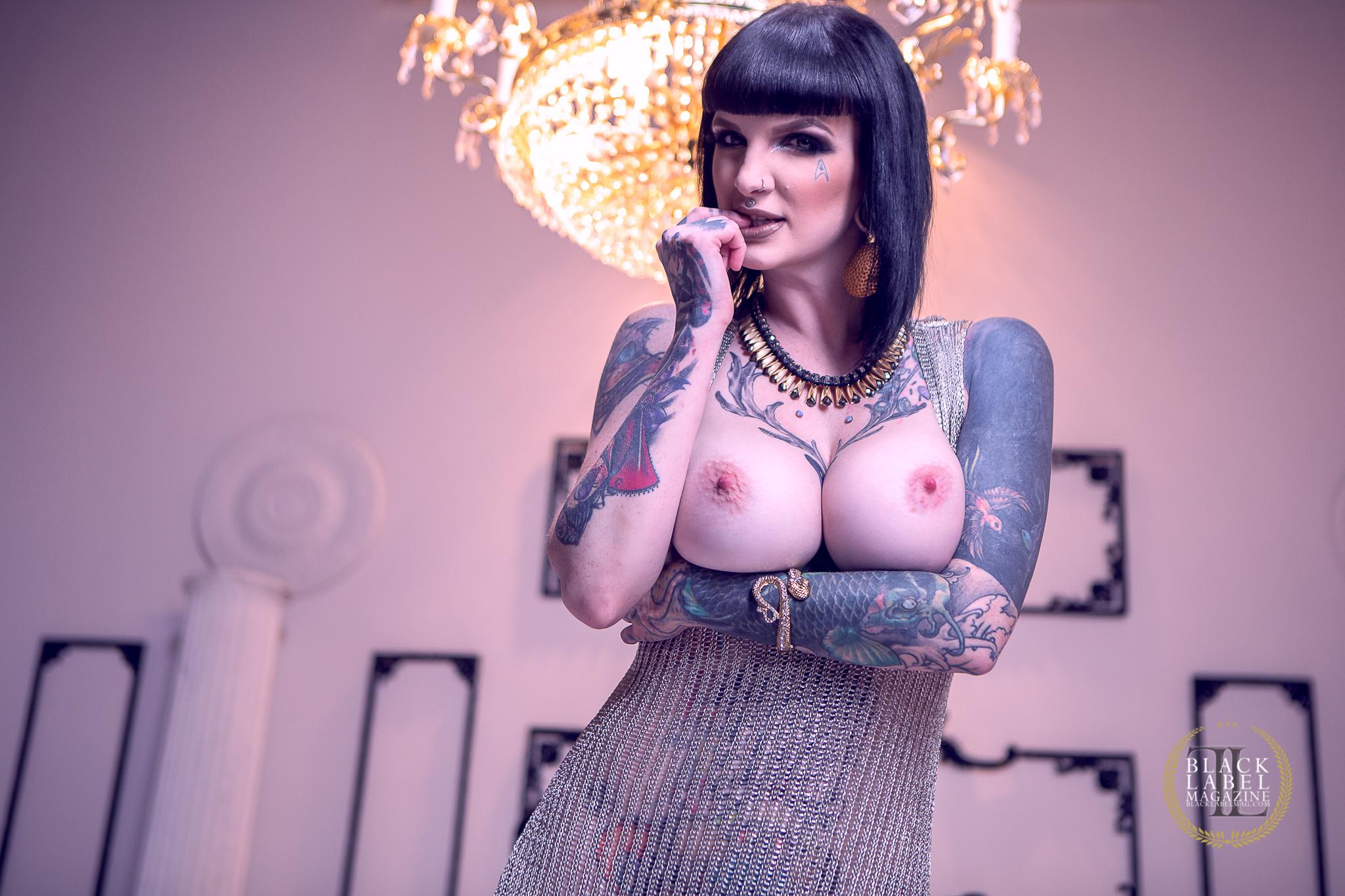 Inked girls nude, Keighla Night, inked xxx, tattooed girls nude, tattooed girls masturbating, big tits, big boobs