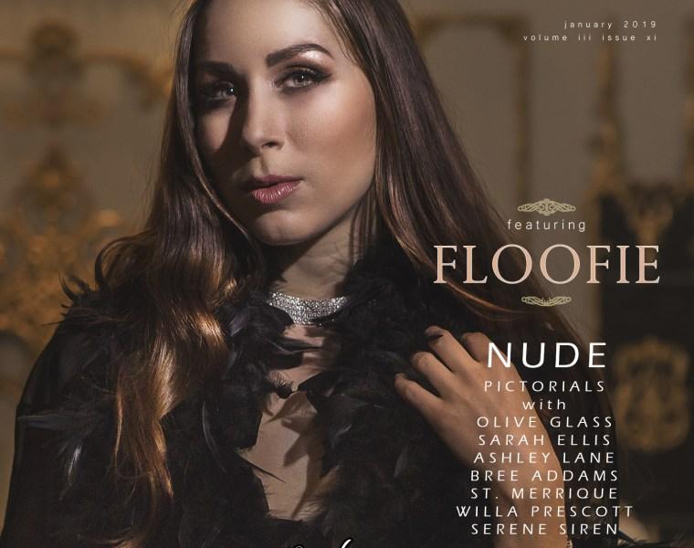 adult magazine, nude art magazine, Floofie, nude brunette, natural boobs, naked girls