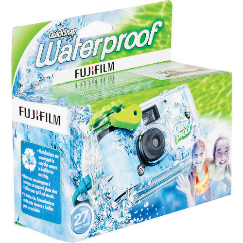 FUJIFILM Quicksnap 800 Waterproof 35mm Disposable Camera - 27 Exposures Add to Cart