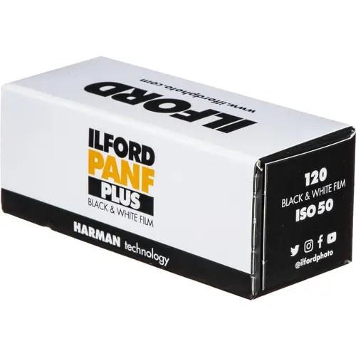 Ilford PanF Plus 120