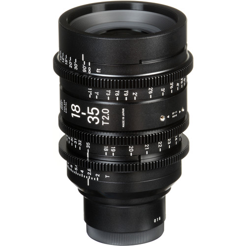 Sigma 18-35mm T2 High-Speed Zoom Lens