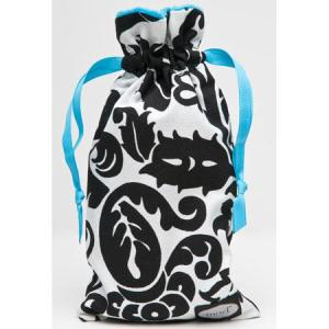 """Mod Damask Bag, (Appx: 6x10.5"""") for Personal Accessories"""