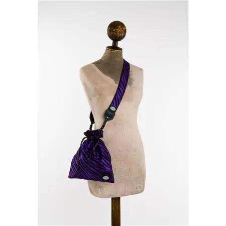 Mod Purple/Black Drop-in Bag