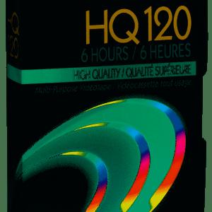 Fujifilm HQ 120 High Quality 6 Hours Blank VHS Tape Hq120
