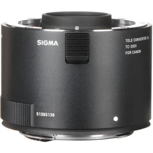 Sigma TC-2001 2x Teleconverter