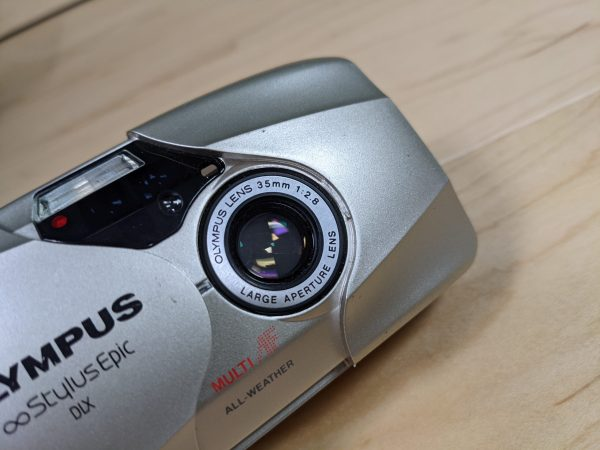 Olympus Stylus Epic DLX MJU II 35mm Point and Shoot Film Camera with 35mm F/2.8 Lens