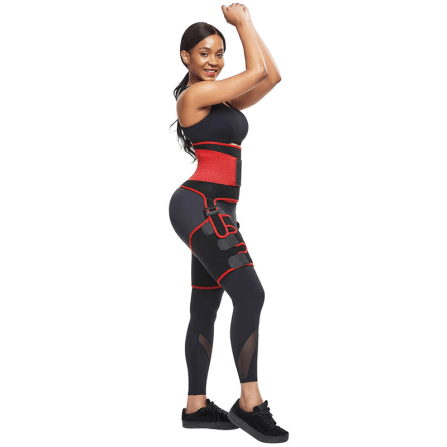 2 In 1 Ultra Sweat Waist and Thigh Trimmer