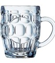 Blacklist Prints - Large Dimple Beer Glass