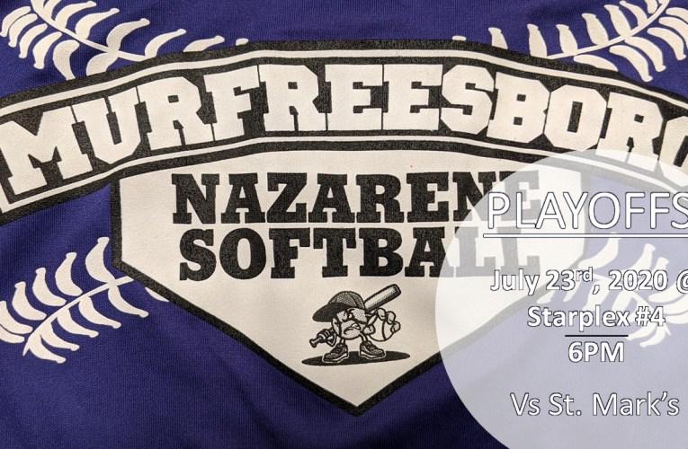 Murfreesboro Naz Softball Playoffs