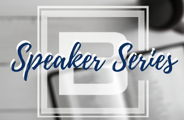 BCC Speaker Series Continues!