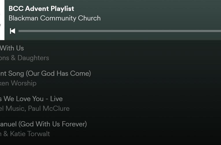 BCC Advent Playlist