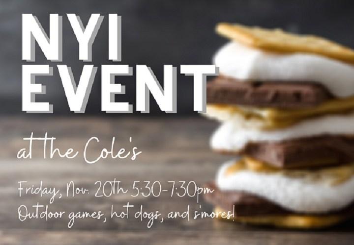 November NYI Event (Correction)