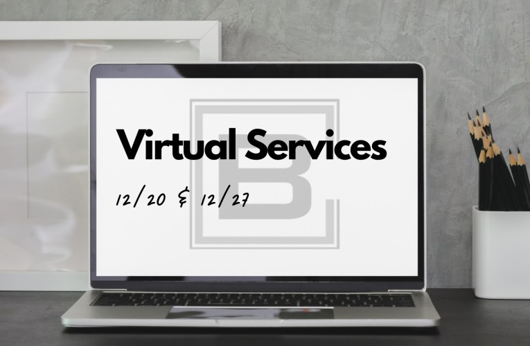 Virtual Services Only!