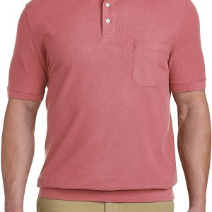 Harbor Bay by DXL Big and Tall Polo Shirt