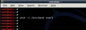 How to add remove user - Standard usernon-root - in Kali Linux - blackMORE Ops -5