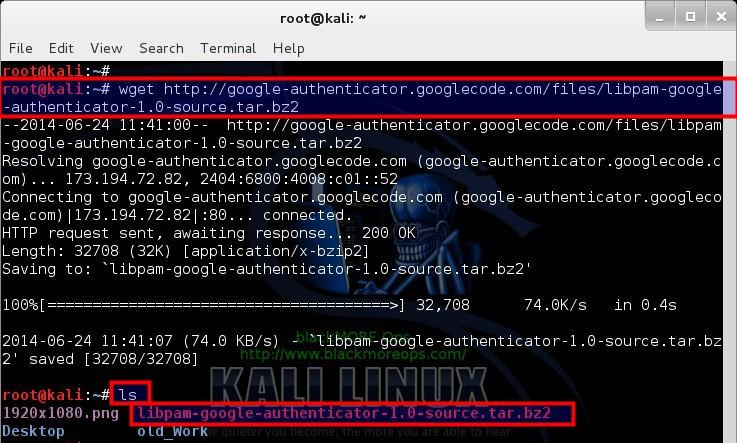 2 - Download Google Authenticator PAM module from GoogleCode - blackMORE Ops