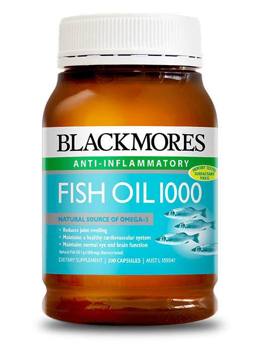 fish oil 1000 - blackmores
