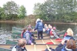 team building canoeing