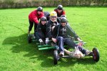team building land carting