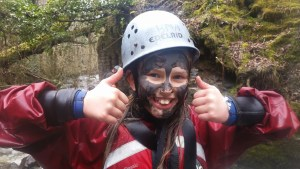 family gorge adventure thumbs up