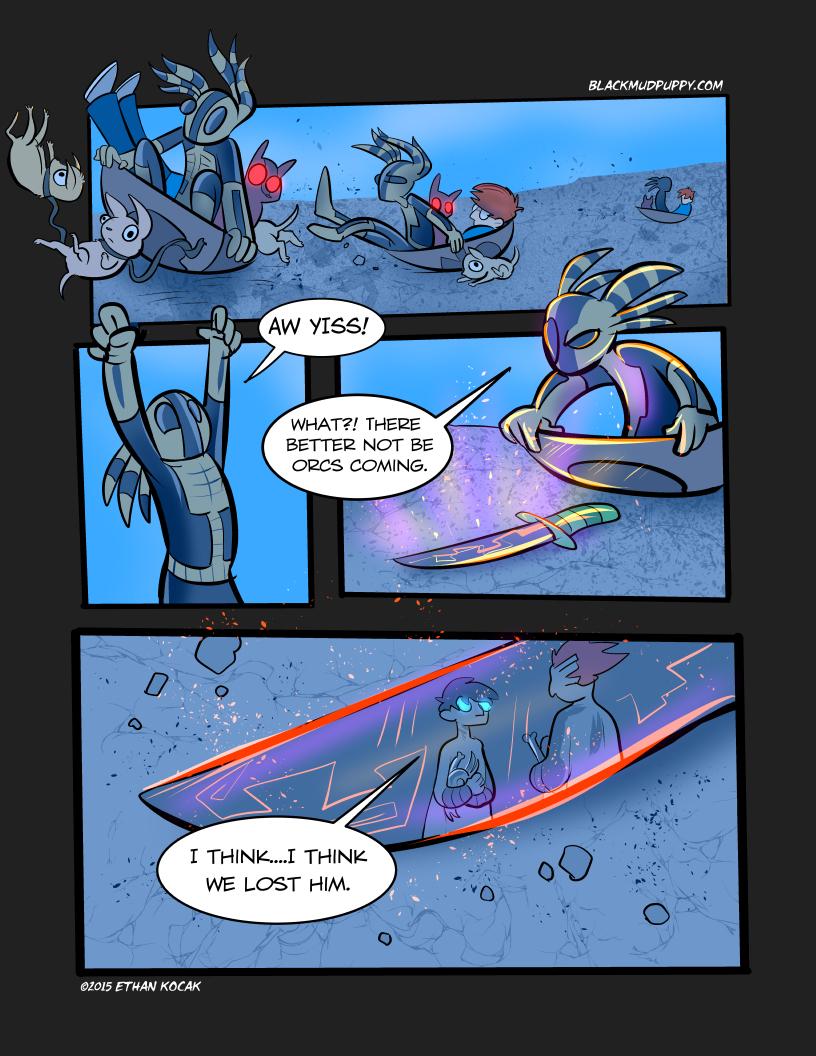 Blood Smoke And Mirrors Page 19