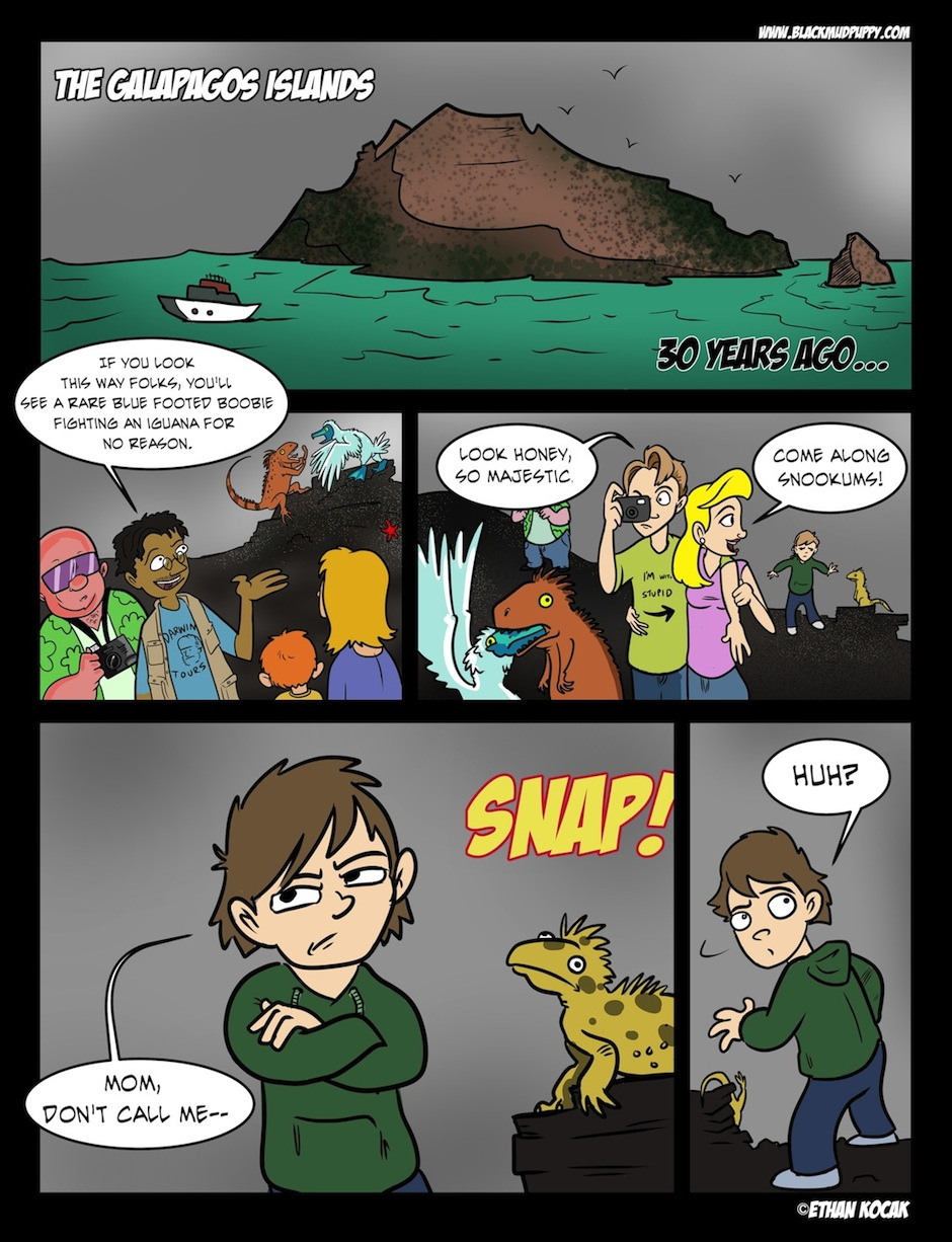 The B Vengers Page 01