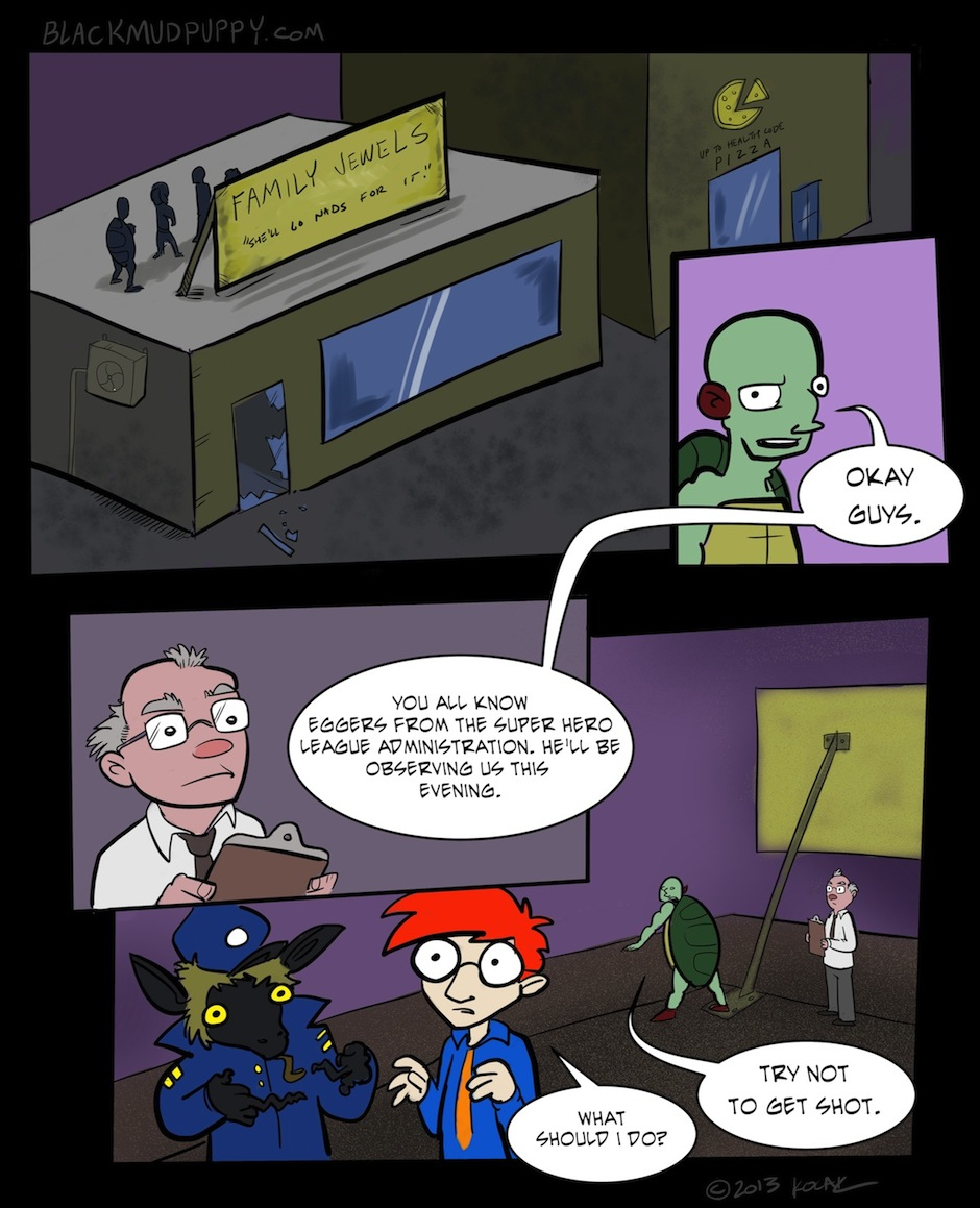 The B Vengers Page 22