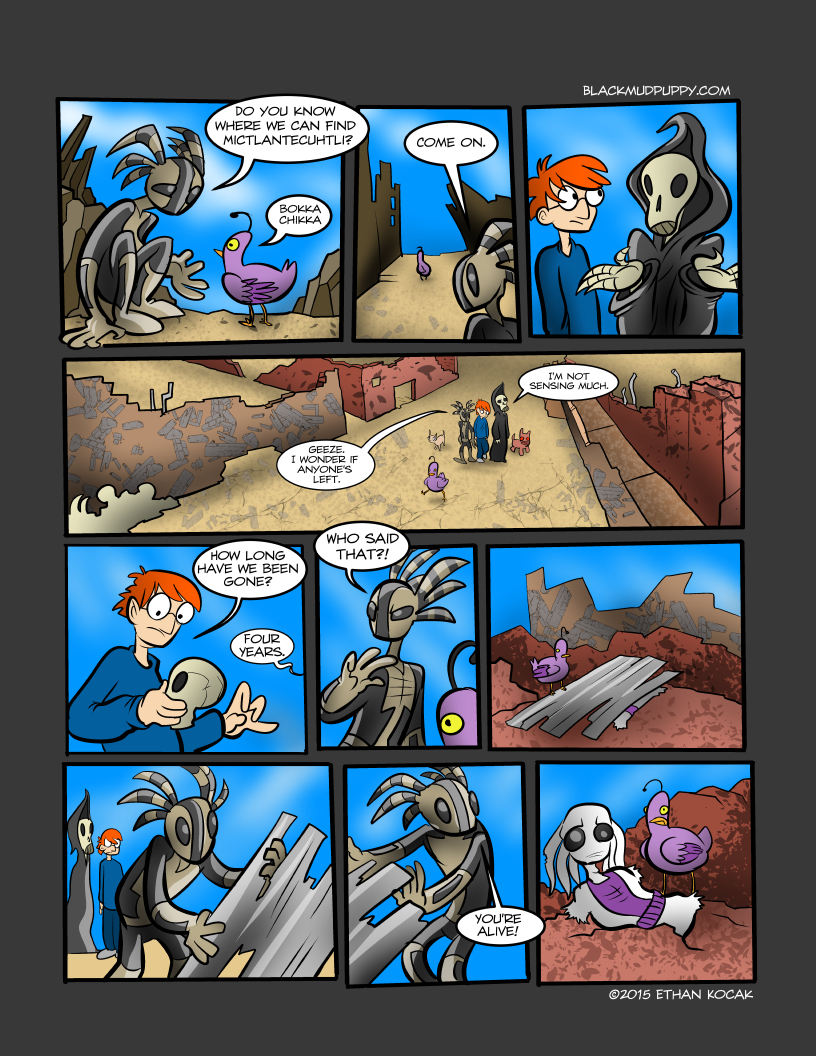 All Bleeding Stops Eventually Page 20