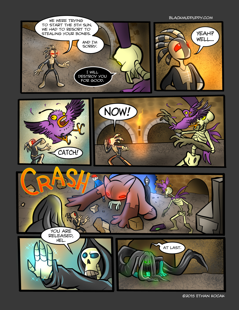All Bleeding Stops Eventually Page 26