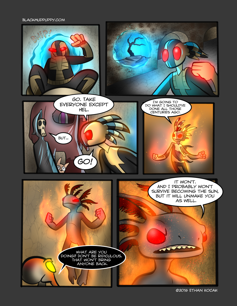 All Bleeding Stops Eventually Page 30
