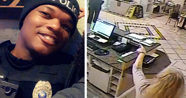 Black police officer who killed white woman, Shannon Rupert