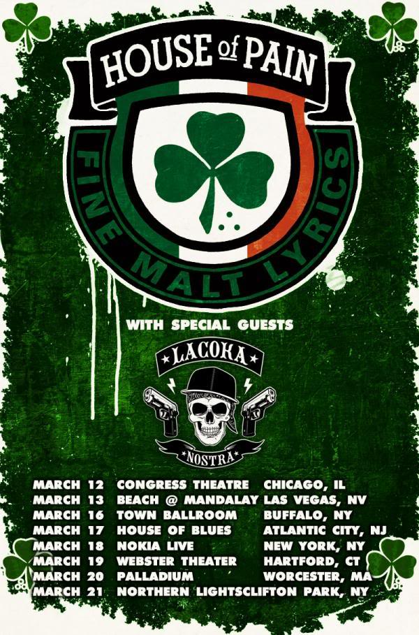 House of pain tour