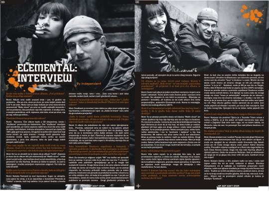 Elemental interview Bumsquad