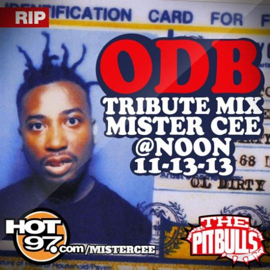"DJ Mister Cee Ol' Dirty Bastard ""ODB"" Tribute Mix"