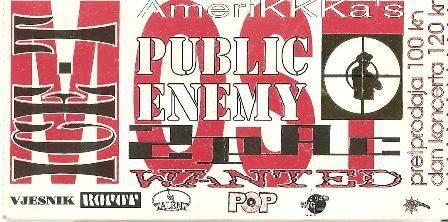 public enemy ulaznica
