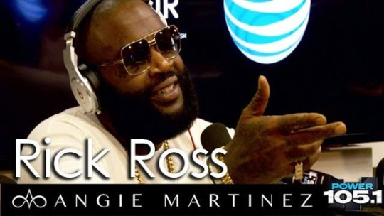 Video: Rick Ross On Rap Beef With Angie Martinez